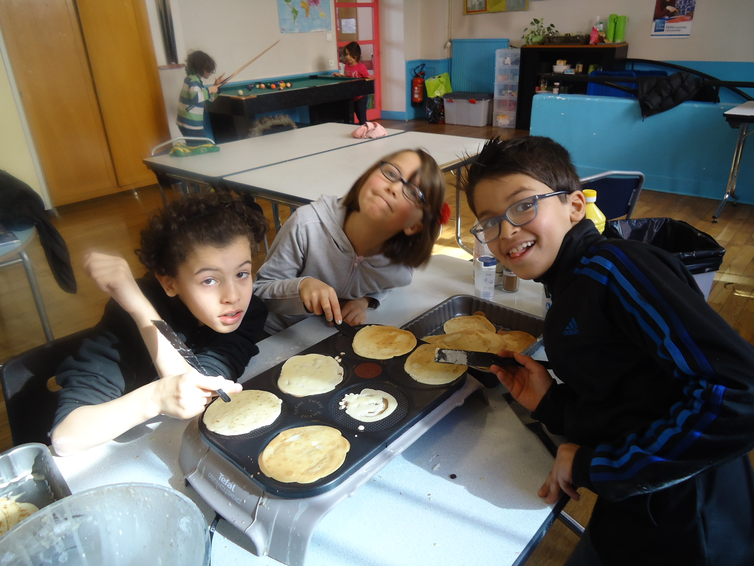 crepe party!